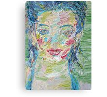 PORTRAIT of a GIRL- BABILA Canvas Print
