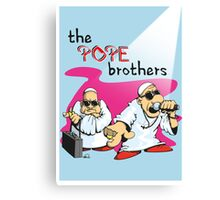 The Pope brothers throw a party Canvas Print
