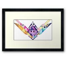 Mane Six Framed Print
