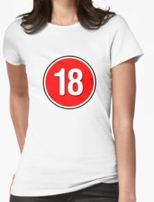 Rated 18 Womens Fitted T-Shirt