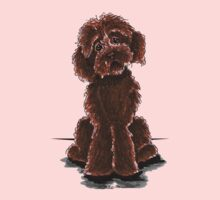 Chocolate Labradoodle Kids Clothes