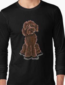Chocolate Labradoodle Long Sleeve T-Shirt