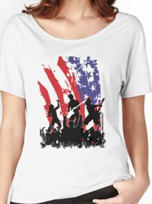 America Rocks Women's Relaxed Fit T-Shirt