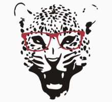 Nerdy Leopard by GenerationShirt