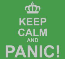 Keep Calm and Panic Kids Clothes