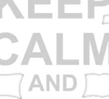 Keep Calm And Rock On! Sticker