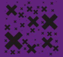 Black Emo Crosses by rawrclothing