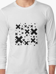 Black Emo Crosses T-Shirt