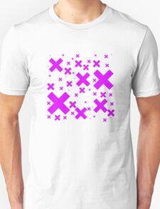 Pink Emo Crosses T-Shirt