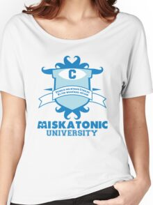 Miskatonic University Women's Relaxed Fit T-Shirt