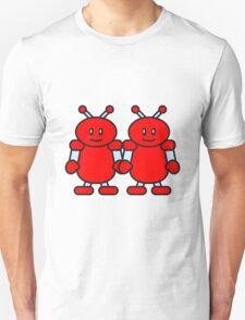 Cute Robot Friends T-Shirt