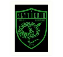 Slytherin Crest Art Print