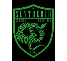 Slytherin Crest Photographic Print