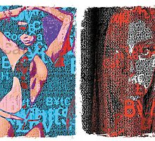 Incarnata Diptych #6 by Grimm Land
