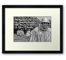 Our Nation Honors Framed Print
