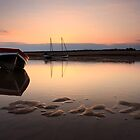 At rest - Burnham Overy Staithe by Justin Minns