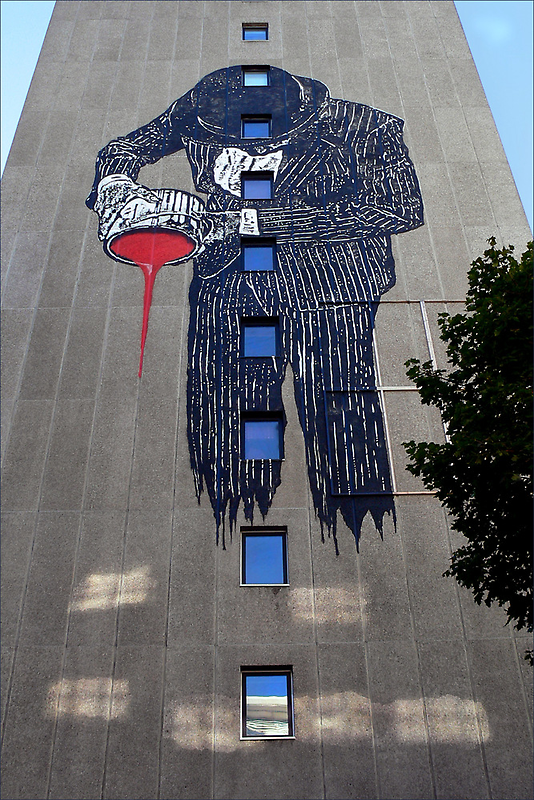 PaintMan: When StreetArt is Art by paintingsheep