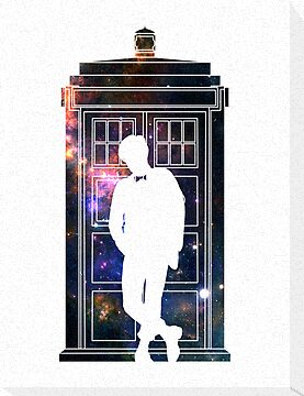 Tardis in space 11th Doctor by bomdesignz
