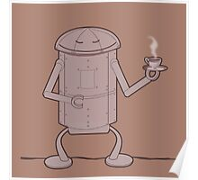 Coffee Robot Poster