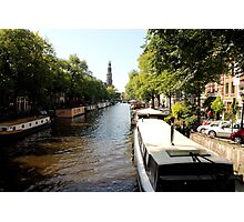 Amsterdam Canals Photographic Print