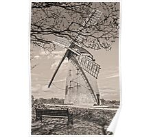 Bidston Windmill in HDR Poster