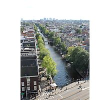 View from Westerkerk Tower Photographic Print