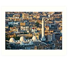 Middle Eastern Town Art Print