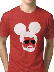 George Mouse (White) Tri-blend T-Shirt