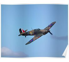 Hawker Hurricane mk1(R4118) Poster