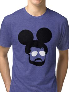 George Mouse (Black) Tri-blend T-Shirt