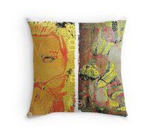 Incarnata Diptych #7 Throw Pillow