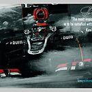 "Kimi Raikkonen Quote Poster - ""The most important thing..."" - 2013 by evenstarsaima"