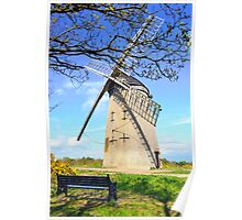 Bidston Windmill (Colour) Poster