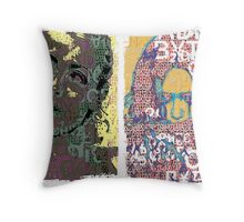 Incarnata Diptych #9 Throw Pillow