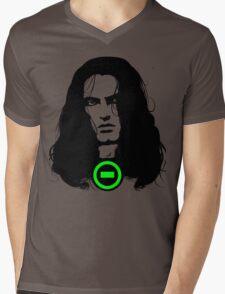 BLACK NO. 1 Mens V-Neck T-Shirt