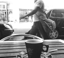 a cup of coffee by Jean-Claude Dahn