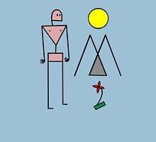 Man in Nature - Colour Unisex T-Shirt