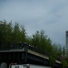High Line, New York City&#x27;s Elevated Park and Garden, Built on An Abandoned Freight Trestle by lenspiro