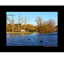 Evening At Grist Mill Pond - Stony Brook, New York  Photographic Print