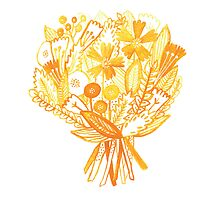 Sunny Yellow Bouquet by Caileigh Speck