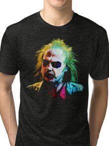 Beej Portrait Tri-blend T-Shirt