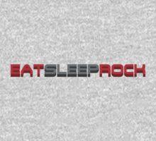 Eat Sleep Rock Kids Tee