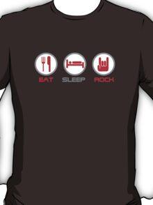 Eat Sleep Rock T-Shirt