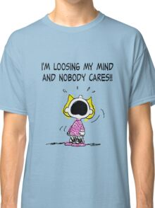 Sally Peanuts Quote Classic T-Shirt