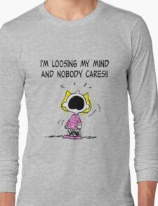 Sally Peanuts Quote Long Sleeve T-Shirt