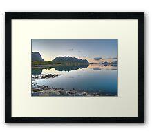 5:00 am - Norway Framed Print