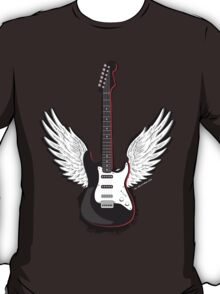 Winged Guitar T-Shirt
