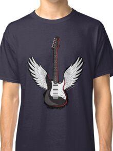 Winged Guitar Classic T-Shirt