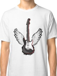 Winged Guitar Classic T-Shirt