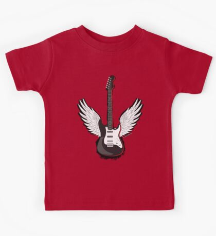 Winged Guitar Kids Tee